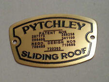 Austin 7 Seven Box Ruby Pytchley Badge Brass Plate 1930 - 1939