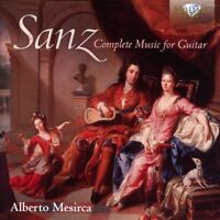 COMPLETE MUSIC FOR GUITAR - MESIRCA,ALBERTO  2 CD NEW! SANZ,GASPAR