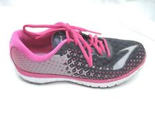 Brooks size 9.5B Pure Flow 5 black pink womens ladies running athletic shoes