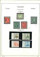 BRD Sammlung 1955-1974 in den Hauptnummern komplett postfrisch ** mit Heuss Lumo