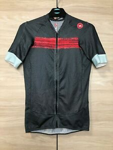 Castelli Climber's 2.0 Rosso Corsa Full Zip Cycling Bike Jersey Shirt size S