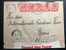 1916 Swakopmund South Africa Censored Cover To Bern Switzerland