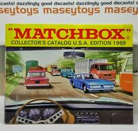 MATCHBOX LESNEY 1969 Collector's Catalogue USA version MINT First Edition b