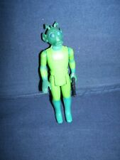 Star War Greedo Action Figure Kenner 1978 with Gun Used
