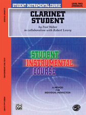 """Student Instrumental Course """"Clarinet Student"""" Music Book Level 2-New On Sale!"""