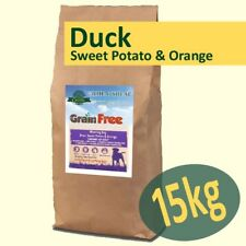 15kg *Grain Free* Working Dog Food DUCK with SWEET POTATO & ORANGE