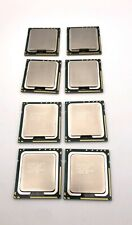 Lot of 8 Intel Xeon E5645 Six Core 2.4GHz 12MB CPU Processors 4 Matching Pairs