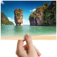 "James Bond Island Phuket - Small Photograph 6"" x 4"" Art Print Photo Gift #16174"