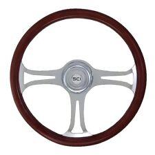 """18"""" 3 Spoke Saber Steering Wheel 3-Hole for Freightliner, Peterbilt,KW + more!"""