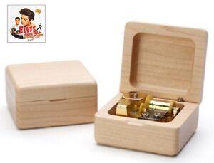 Beech Wood Wind Up  Music Box:  Can't Help Falling in Love @ Elvis Presley