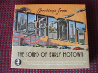 Greetings From Detriot.The Early Sound Of Motown.3 CD Box Set.BRAND NEW & SEALED