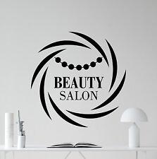 Beauty Salon Wall Decal Spa Make Up Fashion Vinyl Sticker Decor Mural 46bar