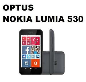 Brand New OPTUS NOKIA LUMIA 530 - BLACK - OPTUS NETWORK LOCKED