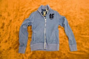 Abercrombie & Fitch Men Bomber Jacket - Blue - Medium - BNWT