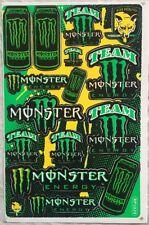 14 Monster Energy Drink Claw Stickers Dirt Bike MTB Motocross Helmet BMX Quad