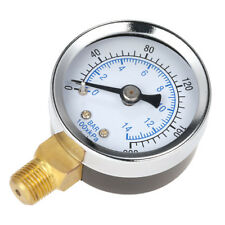 40mm 0~200psi Pool Filter Water Pressure Dial Hydraulic Gauge Meter Manometer