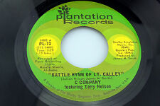 C Company [Terry Nelson]: Battle Hymn of Lt. Calley / Routine .  [Unplayed Copy]
