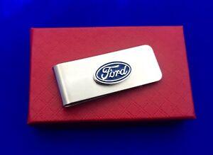 Ford Money Clip Auto Car Money Holder NEW