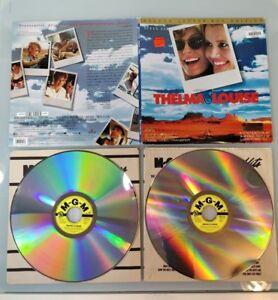 tested THELMA & LOUISE LaserDisc LD Brad Pitt Susan Sarandon See Playback Photos