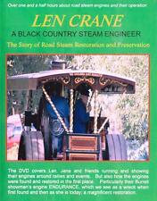 Len Crane Black Country Engineer Dvd: Burrell Showman's Steam Engine Endurance