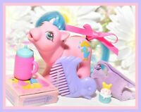 ❤️My Little Pony MLP G1 Vtg Drink 'n Wet Baby Rainfeather Duck Accessory COMB❤️