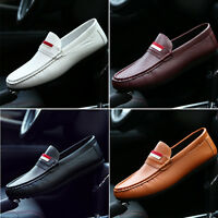 Mens Driving Moccasin Loafer Slip On Shoes Casual Comfy Fashion Shoes