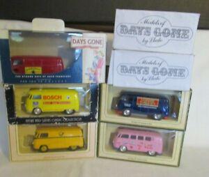 7 LLEDO VW VANS IN VARIOUS BOXES