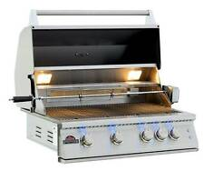 "32"" PREMIER STAINLESS STEEL DROP IN/ BUILT IN BARBECUE BBQ ISLAND GAS GRILL HEAD"