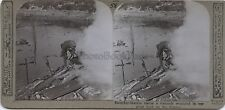 Somme France Scène de la Grande Guerre 14-18 WW1 Stereoview