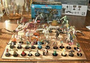 D&D Mythic Odysseys of Theros Complete set w/ Premium 47 miniature figures MTG
