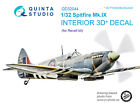 Quinta QD32044 1/32 Spitfire Mk. IX 3DPrinted coloured Interior for Revell kit
