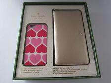 Kate Spade Genuine Gift Set for iPhone 6 & 6S Universal Zip Wristlet Wallet New