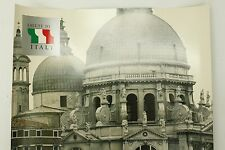 Vintage Original Salute Venice Italy Travel Double-Sided Photo Poster