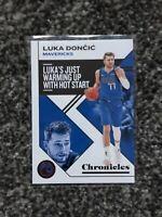 Panini Basketball Chronicles 2019-20 Luka Doncic Chronicles Bronze #100