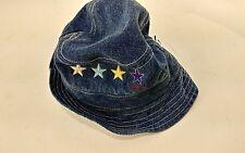 Tommy Hilfiger Little Girls Kids One Size Petite Cotton Bucket Beach Sun Hat
