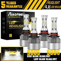 OPT7 Fluxbeam LED Headlight Kit 9005 9006 H1 H3 H4 H7 H11 H13 6000K 6K Bulbs Low