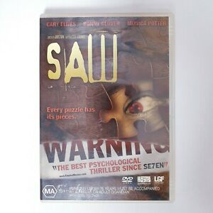Saw Movie DVD Region 4 Free Postage - Horror Thriller