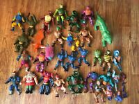 He Man Masters of the Universe Figure Lot Tongue Lashor, Moss Man MOTU Mattel