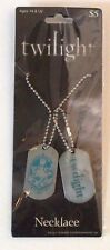 NEW DOG TAG Twilight Saga New Moon Cullen Crest Jewelry Necklace NECA
