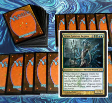 mtg BLUE GREEN SIMIC COMMANDER EDH DECK Magic the Gathering cards zegana