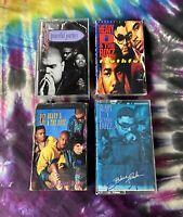 Lot Of 4 Heavy D & The Boyz Cassette Tapes - Hip Hop Rap Cassette Tapes