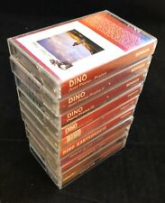 Dino 10-Cassette Lot w/Rare Gems Great is the Lord, Rush Hour, Rise Again TESTED
