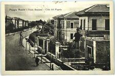 Cartolina Formato Piccolo - Poggio Rusco - Viale Stazione - Casa Del Popolo Viag