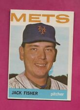 1964 TOPPS # 422 METS JACK FISHER NRMT CARD (INV# A4833)