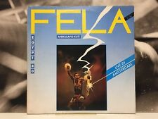 FELA ANIKULAPO KUTI & EGYPT 80 - LIVE IN AMSTERDAM 2 LP VG+/NM/NM 1984 ITA EMI