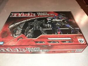 TRANSFORMERS RISK CYBERTRON BATTLE EDITION BOARD GAME PARKER BROTHERS