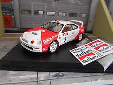 TOYOTA Celica ST205 GT Rallye Boucles de Spa 1996 #3 Verreydt Marlb Trofeu 1:43