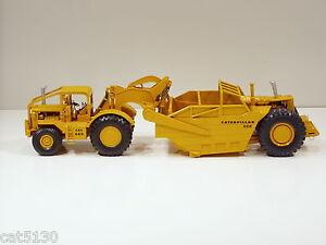 Caterpillar 666 Scraper w/ Long ROPS & High Sides - 1/50 - RR Models of France