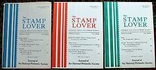 Stamp Lover Magazine – Full Set 1967 (6 issues) Jammed with Info (St-4)