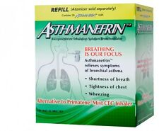 Asthmanefrin Asthma Medication Refill 30 Count Exp. Date 09/19 (Sept 2019) NEW